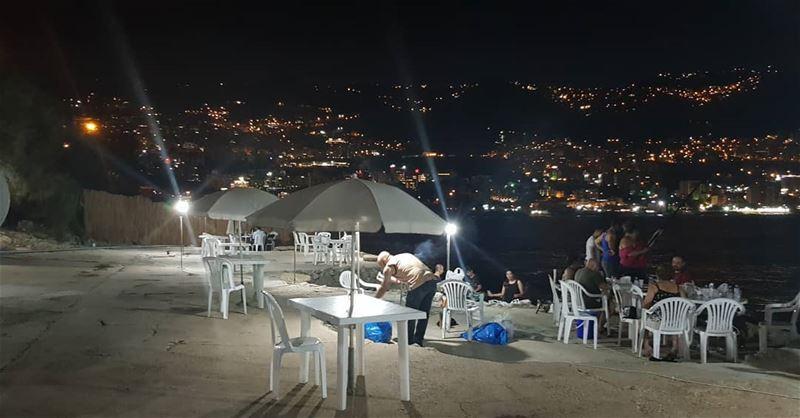Night in Jouneh ❤... beirut lebanongirls lebanon_hdr jouneh ... (Joünié)