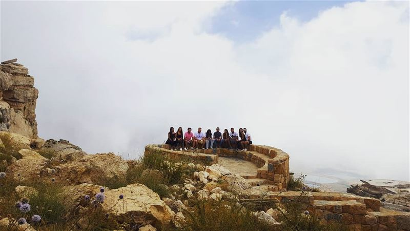 life is meant for good friends & great adventures akoura kimgsland... (Akoura, Mont-Liban, Lebanon)