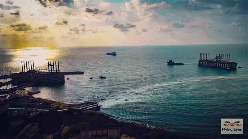 4th Power 🛳 arriving to 🇱🇧todayAs always the FlyingEyes are the first... (Kaslik)