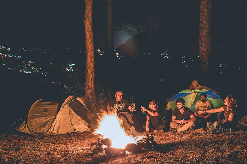 Simba's first camp 🦁.... Cheers •📷: @whereishaig ⠀⠀⠀⠀⠀⠀⠀⠀⠀⠀⠀⠀ ⠀⠀⠀⠀⠀⠀⠀⠀⠀⠀ (Mount Lebanon Governorate)