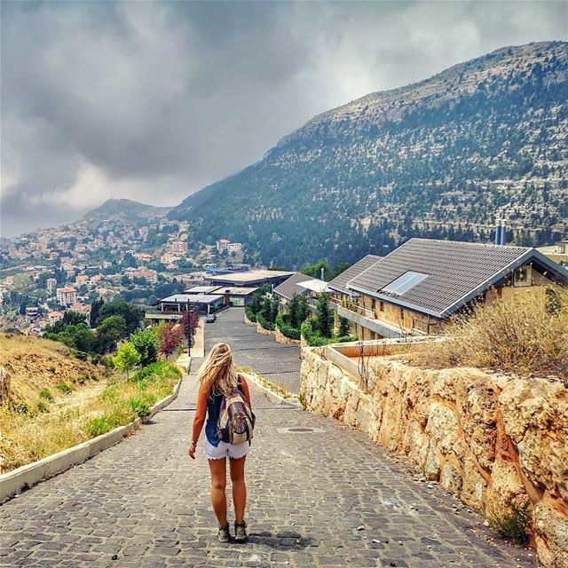 When your hike ends like this ...it's safe to say it was pretty awesome 💚... (Ehden, Lebanon)