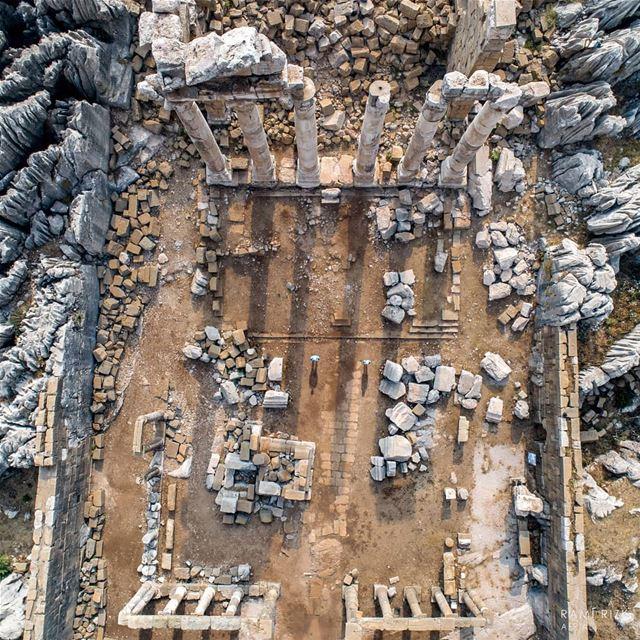 The Roman ruins of Faqra 🏛️... lebanon faqra kfardebian dji ... (Faqra, Roman Temple, Kfardebian, Lebanon)