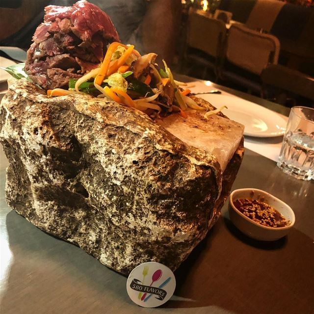 Have you ever tried this Himalayan Beef filet on a salt rock?! 😍😍 so... (CINCO lounge)