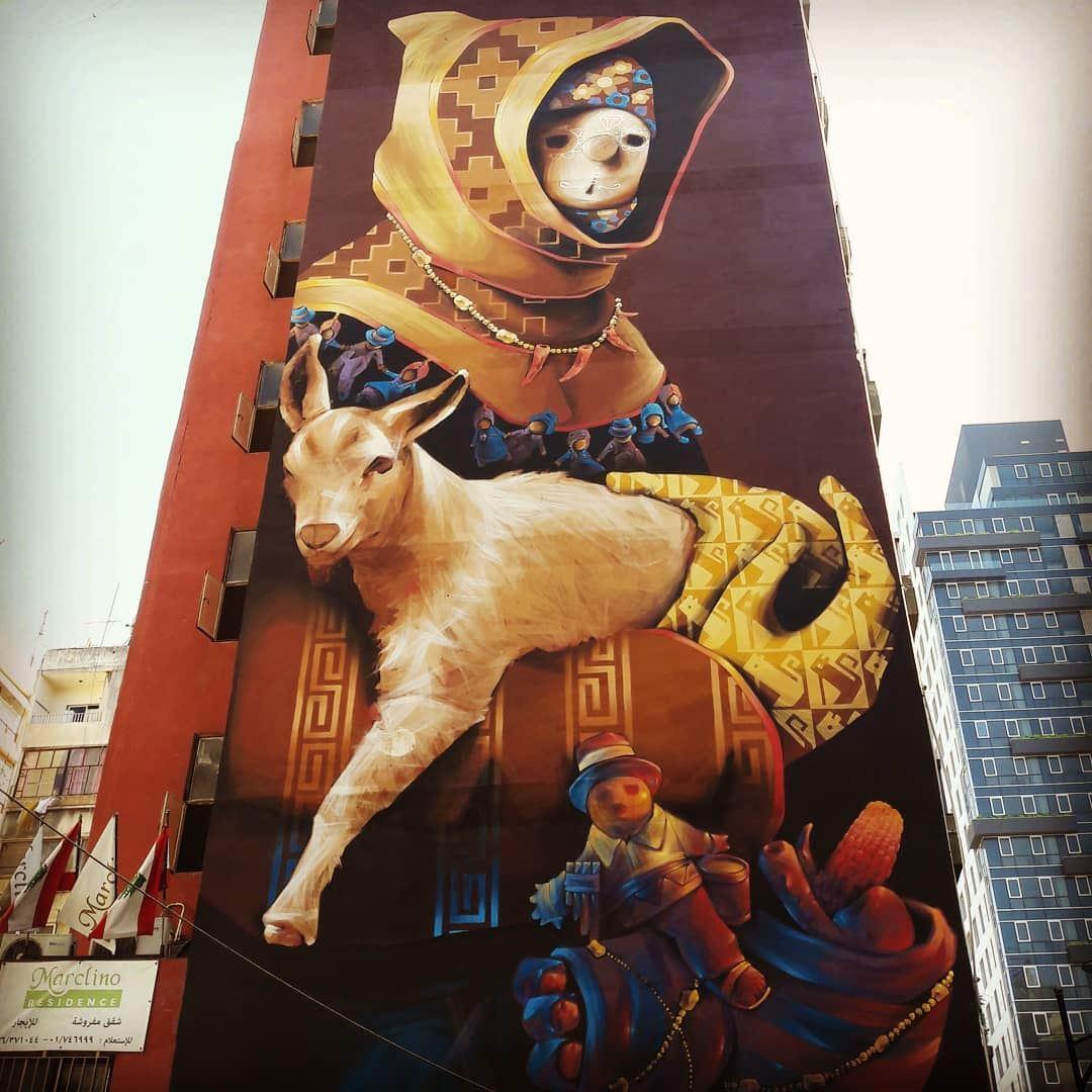 Sick! Isn't it?... graffiti urbanwalls urbanart wall spray artist... (Hamra - حمراء)