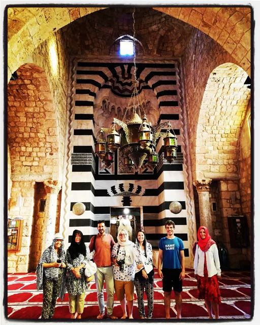 The beautiful door of Taynal Mosque. tourleb tourlebanon tourismlb ... (Tripoli, Lebanon)