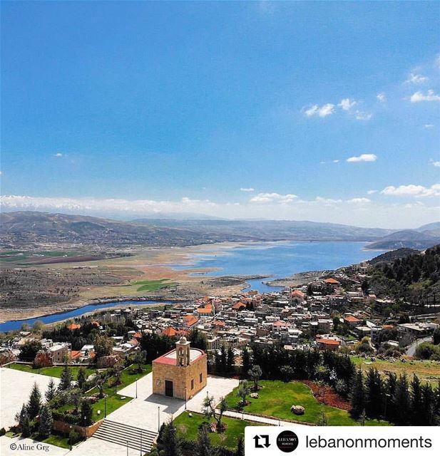 Repost @aline_grg ・・・||Moments in Lebanon||: Where the sun is closer.. 😍 (Saghbîne, Béqaa, Lebanon)