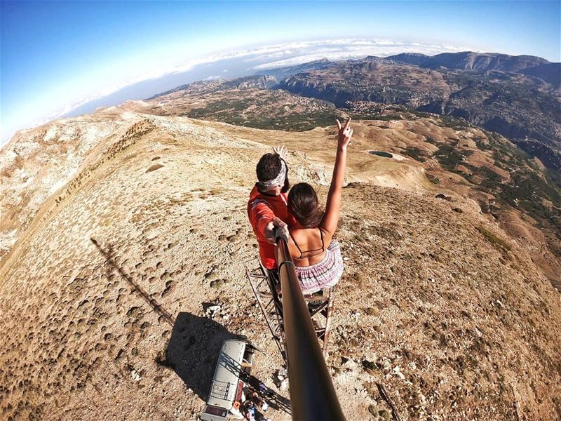 Find yourself, every journey counts. .. adrenalinejunky  hikingtrails ... (Lebanon)