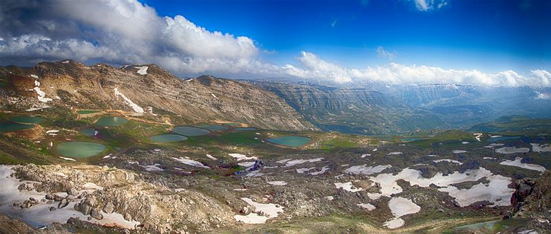 The Laklouk & Akoura Lakes By mid Spring
