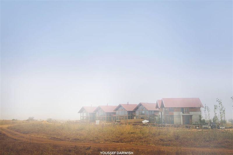 fog house bekaakafra lebanon bcharre liban природа nature ливень ... (Bekaa Kafra)