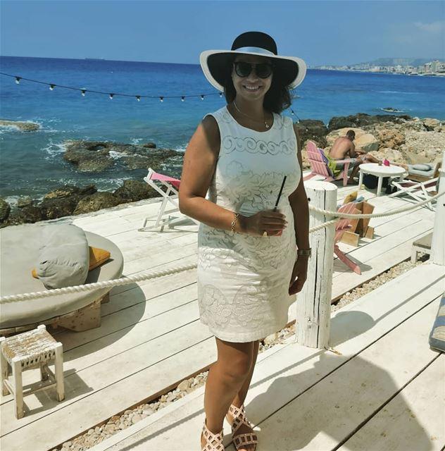 A day well spent in batroun Thank u @filorgalebanon @nadine.kalache.maalou (Isla - pebble bar)