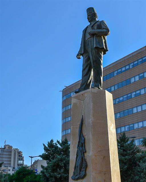Riad El Solh 1894 - 1951Born in Sidon, south LebanonRiad Al Solh studied... (Downtown Beirut)