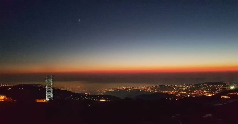 Enjoy Nature's farewell kiss for the night 🌅🌌 .... lebanon ... (Faqra (fornlämning i Libanon, lat 34,00, long 35,81))