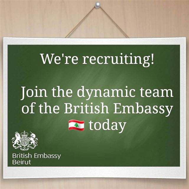 Come join our team!🇬🇧🇱🇧 We're seeking an individual for the position...
