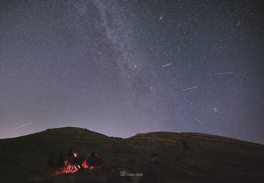💫 perseid meteor shower astrophotography summer2018....... (Akoura, Mont-Liban, Lebanon)