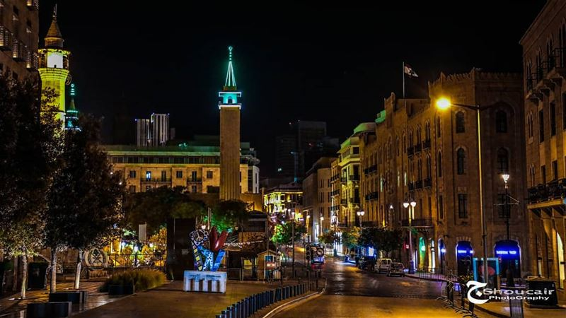 Waygand Street...شارع ويغان______🔴⚪⚪🌲⚪⚪🔴_______ gshoucairphotography... (Downtown Beirut)