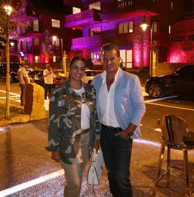 With him @arzfaraya newprojects luxury villa chalet mountain ... (Faraya, Mont-Liban, Lebanon)