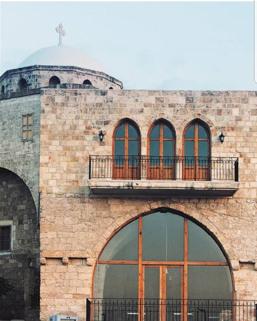 batroun  البترون_سفرة  saint  georges  church  oldchurch  oldbuilding ... (Batroûn)