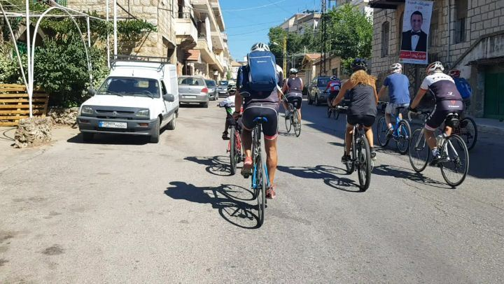 cyclinglife  cyclingaddict  cyclingday  cycling  cyclingnature ... (Falougha, Mont-Liban, Lebanon)