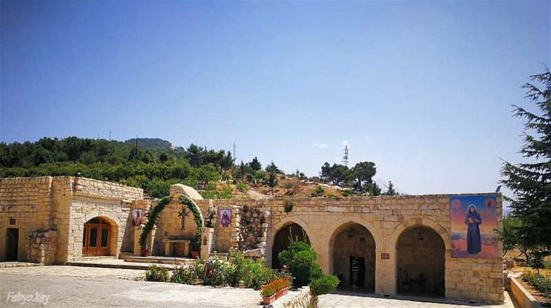 Sunday libanon church aito arcades holyspirit strafqa ... (Aïtou, Liban-Nord, Lebanon)