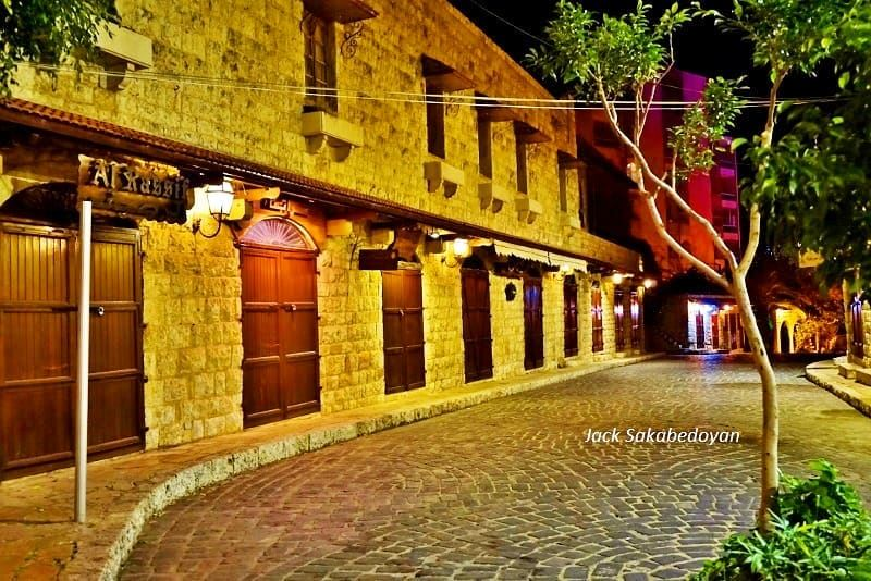 Zouk Mikael Old Souk zoukmikael oldsouks shops bynight renovated ...