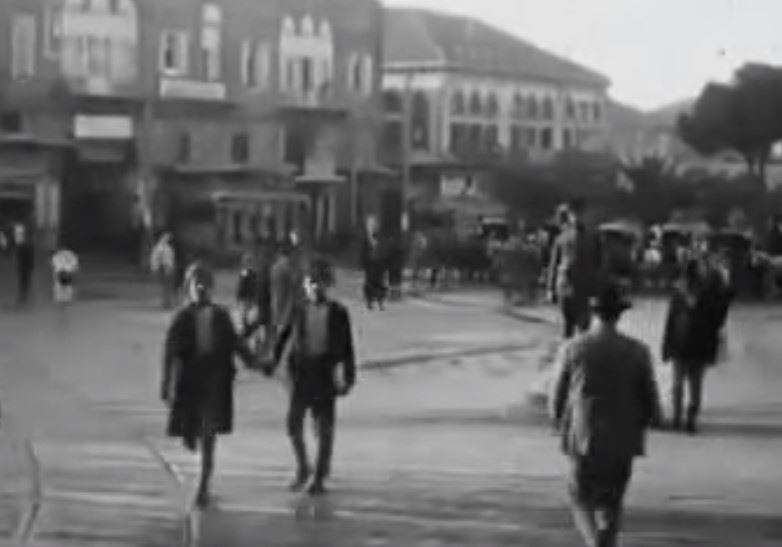 فيلم صامت عن العاصمة بيروت سنة 1921