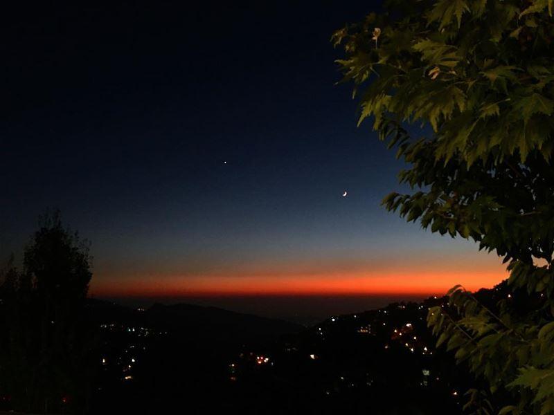 sunset sunset_vision chasingsunsets sunset_pics mountaineering... (Ehden, Lebanon)