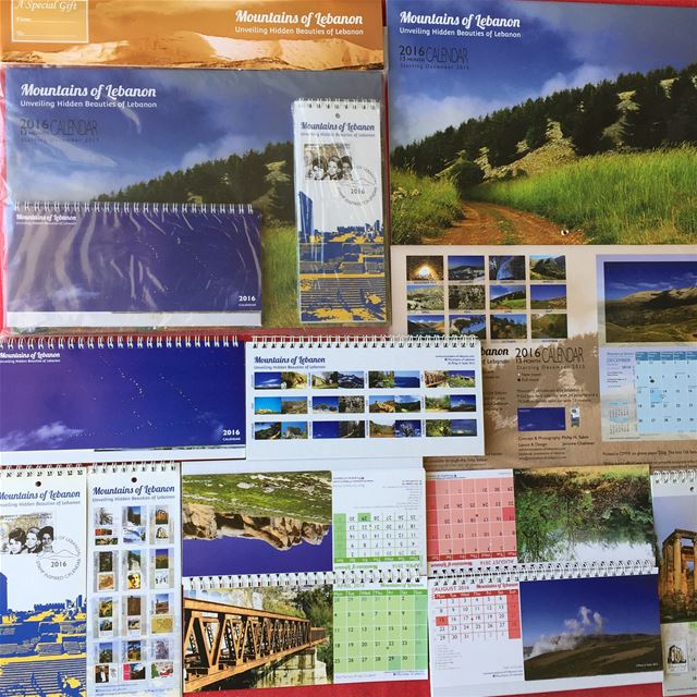 Celebrating 15 years of mountainsoflebanon Calendars! 2016 12th edition,... (Lebanon)