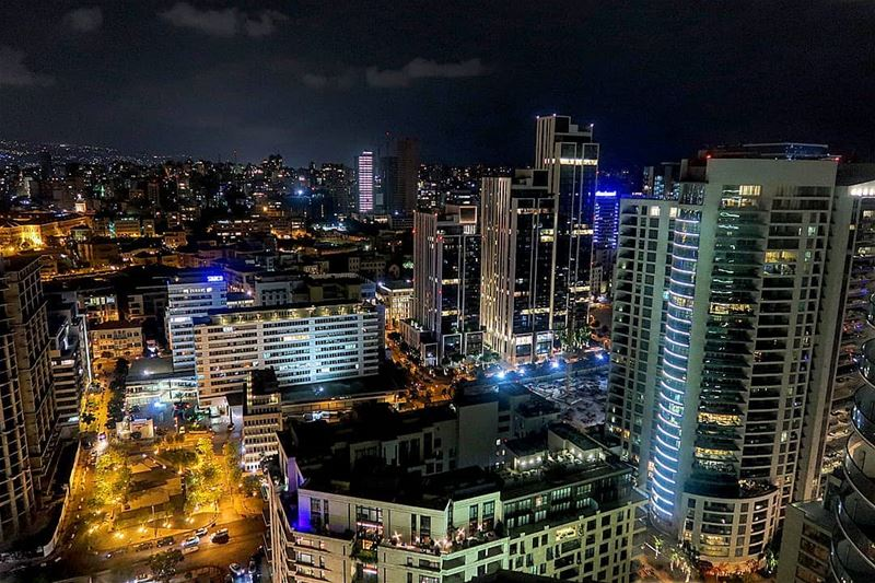 Good night Beirut ❤️Shot with Canon G7X mark II lebanonspotlight ... (The Roof Beirut)