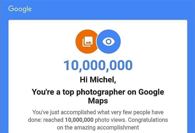Top Photographer on Google Maps! I surpassed 10.5 million views. Lebanon ... (Lebanon)