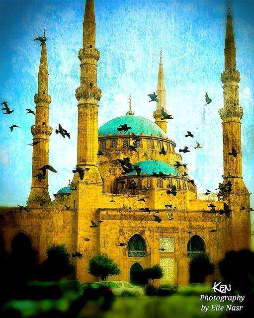 اضحى_مبارك عيد_سعيد adhamoubarak adha_mubarak happyeid ... (Downtown Beirut)