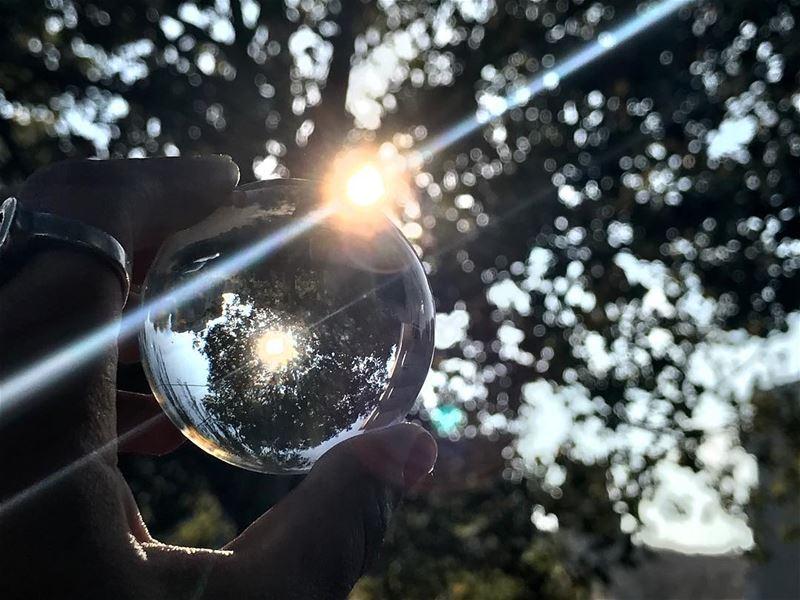 Be the light....✨•••••••••• crystalball crystalballphoto ...