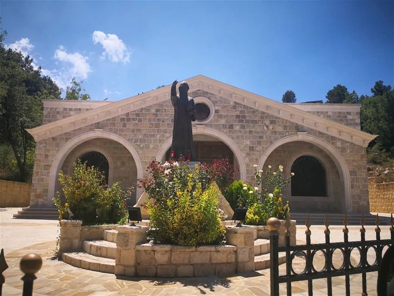 🙏🕯️SAINT CHARBEL PRAY FOR US 🕯️🙏____________________________________... (Lehfed)