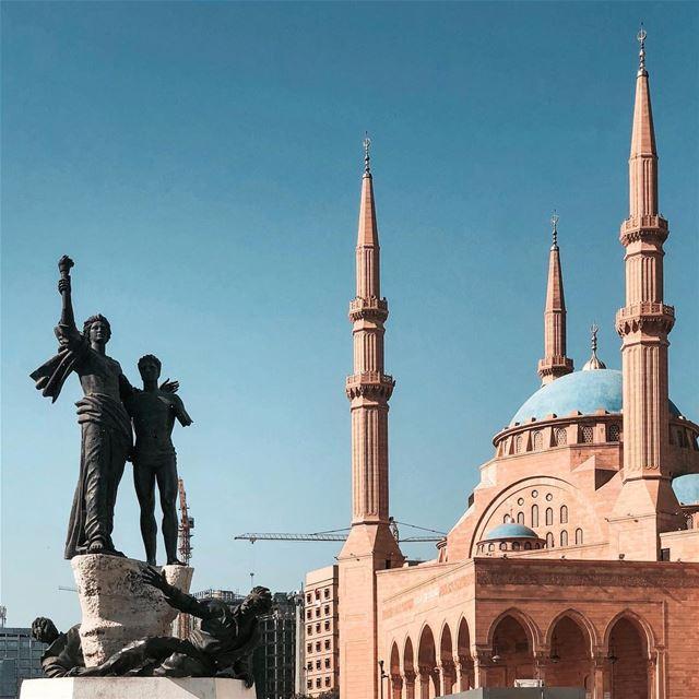Majestic Beirut 🇱🇧 Discoverglobe ig_lebanon........ vsco... (Martyrs' Square, Beirut)