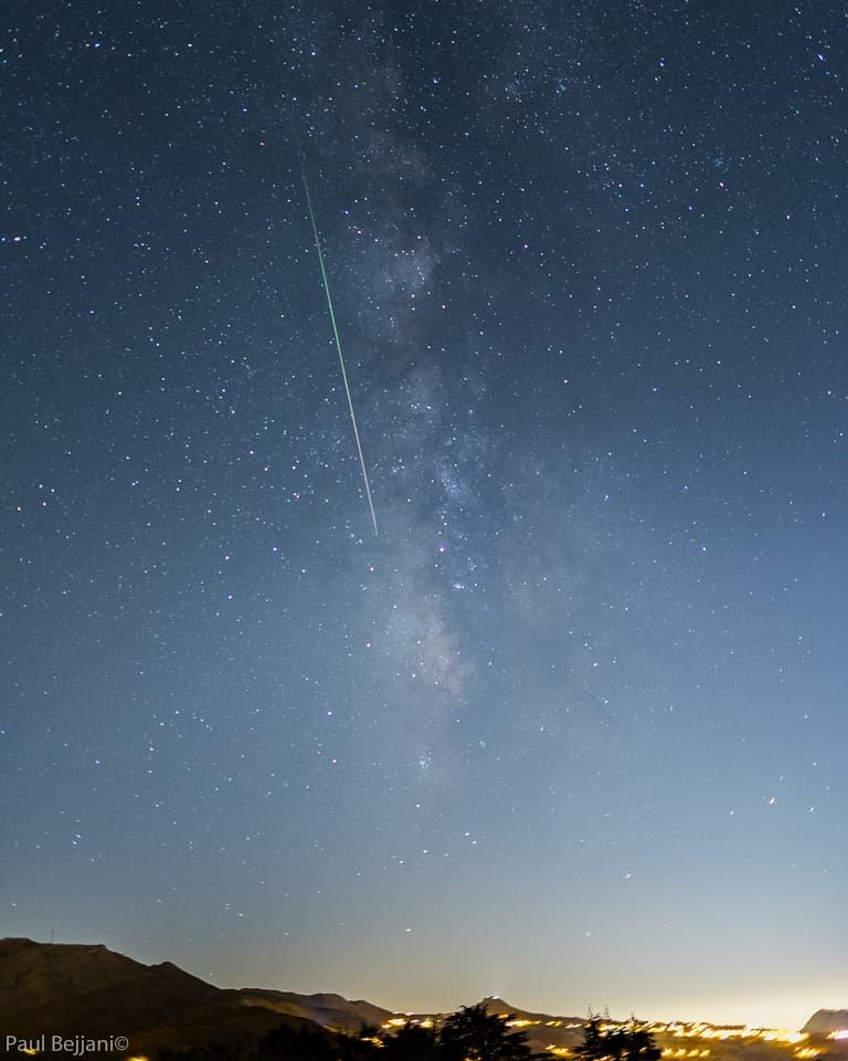 meteor meteorshower perseids perseus astrophotography lebanon ...