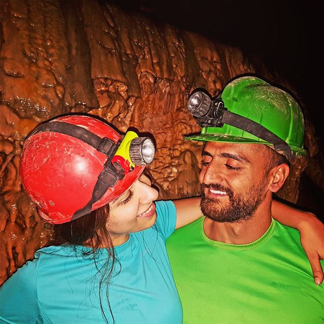 Caving in the second largest grotto in Lebanon with the biggest maze...