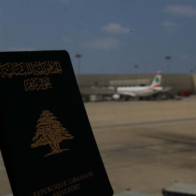Let's go somewhere..!!!... passport  lebanon  lebanese  mea travelblogger... (Beirut–Rafic Hariri International Airport)