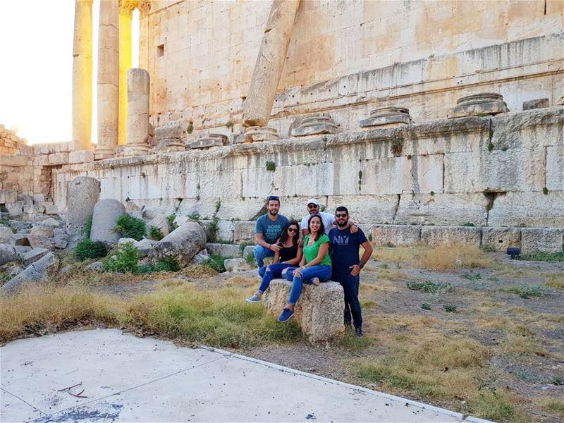Baalback ViP section ! 🏛 (Baalbeck, Béqaa, Lebanon)
