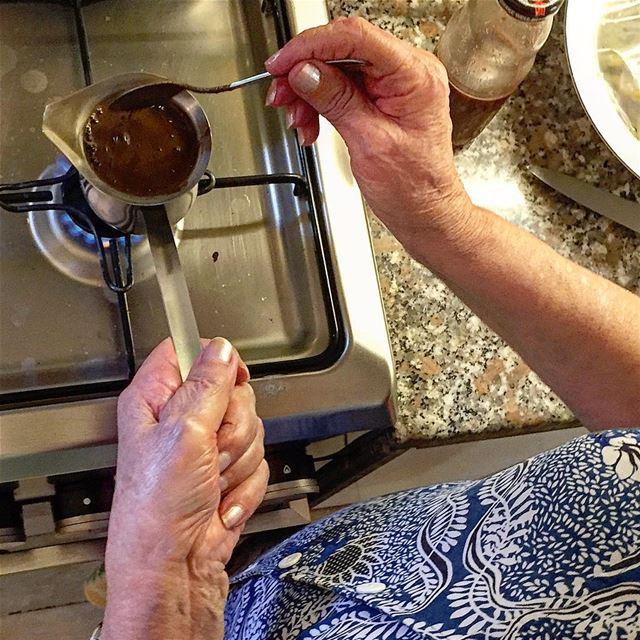 Rituals whatmakesamorninggood ::::::::::::: goodmorning coffee teta ... (Jamhoûr, Mont-Liban, Lebanon)