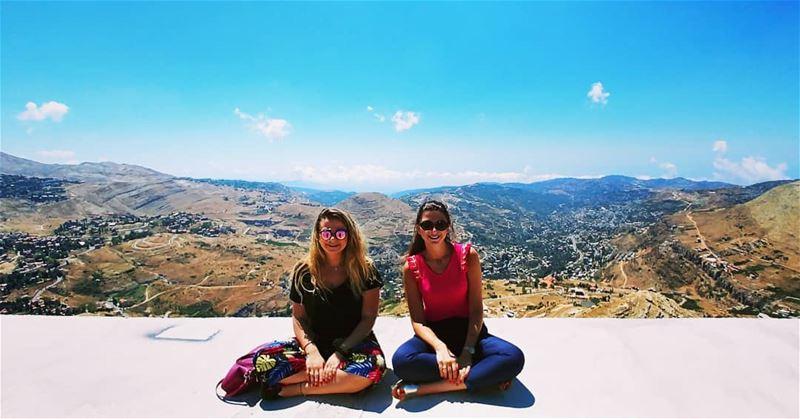 sisters... faraya mountains lebanon ...