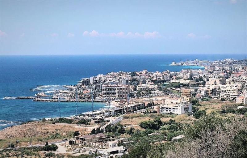 في_بلادي مدينة البترون هذا الصباح lebanon North Batroun mediterranean... (Batroun District)