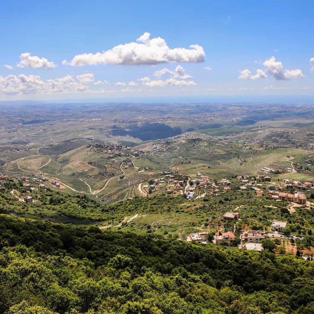 The beautiful Lebanon from the deep south to the north, east and west!... (Mleeta Tourist Landmark)