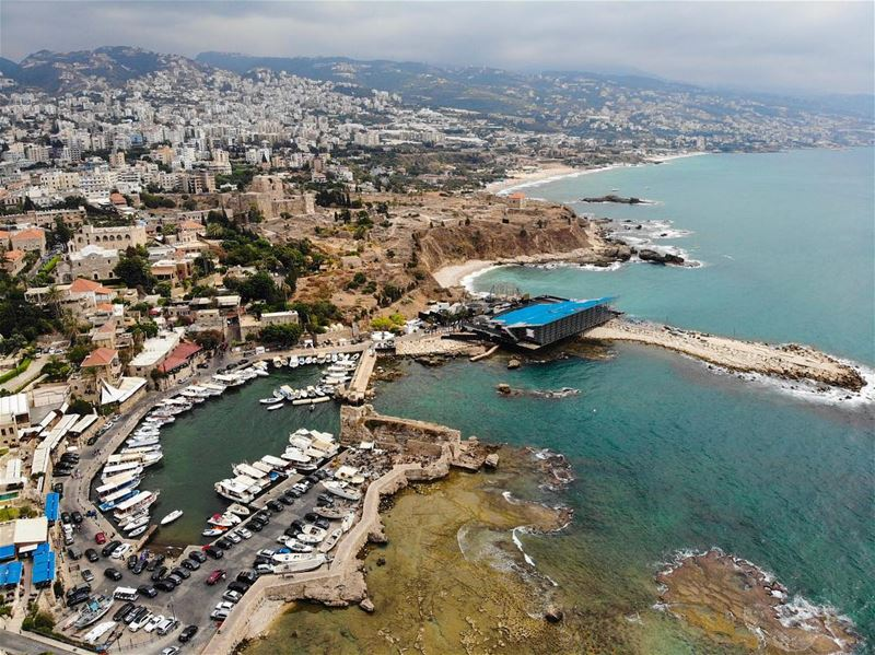 Byblos ...from the sky of lebanon comes this arial view of byblos, ...
