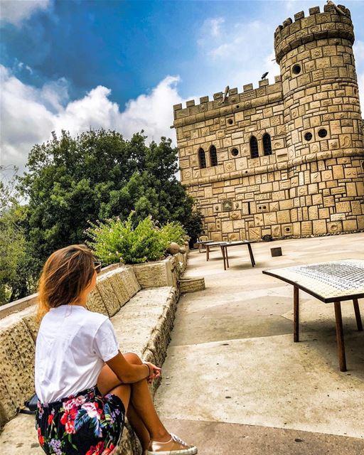 💆🏻♀️💫......... lebanon lebanon_hdr shouf beiteddine ... (Moussa castleقلعة موسى)