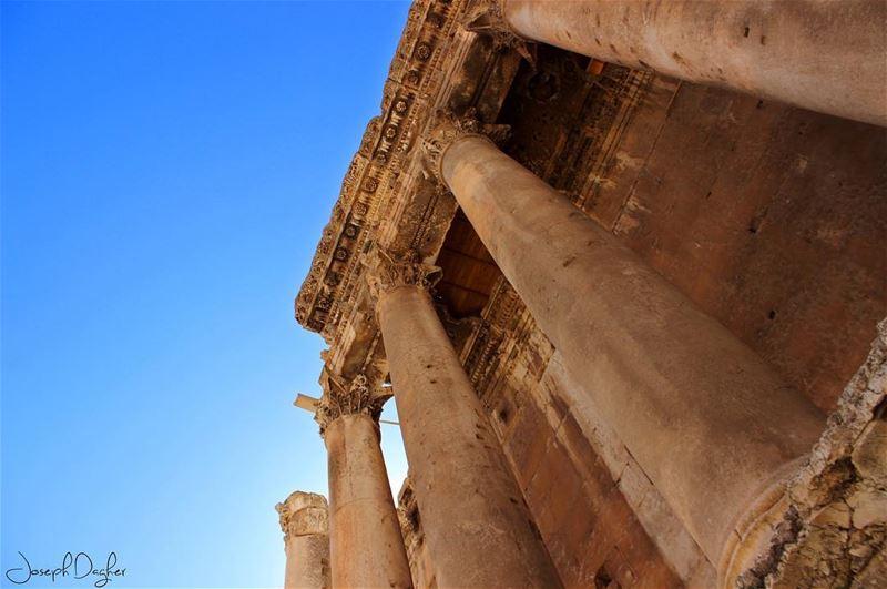 🏛___________________________________________________________... (Baalbek , Roman Temple , Lebanon)