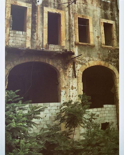 Scars......... travelawesome exploretheglobe worlderlust ... (Beirut, Lebanon)