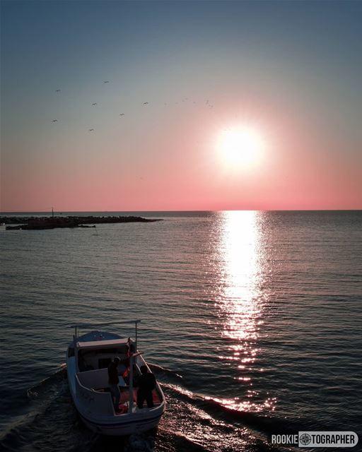 Ripples 🌅 rookietographer ...... lebanon_hdr sunset_ig sunsets... (Tripoli, Lebanon)