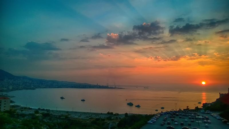 Jounieh Bay at Sunset