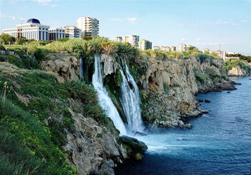 Düden Waterfalls📍Antalya, Turkey..━ ━ ━ ━ ━ ━ ━ ━ ━ ━ ━ ━ ━ ━ ━ ━ ━ ━... (Antalya, Turkey)