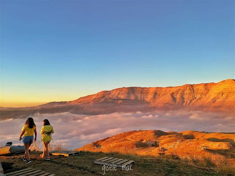 Long walks and deep talks on cloud 9. trappingtones cloud9 tgif ... (Lebanon)