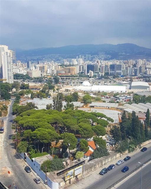 From above 💚 - part 2 ............. Lebanon beirut ... (Beirut, Lebanon)